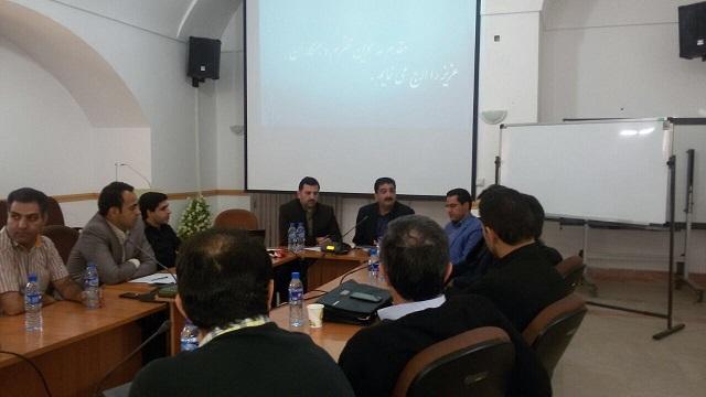 گزارش تصویری : هم اندیشی قاچاق کالا و بازرسی واحدهای صنفی سخت افزاری یزد