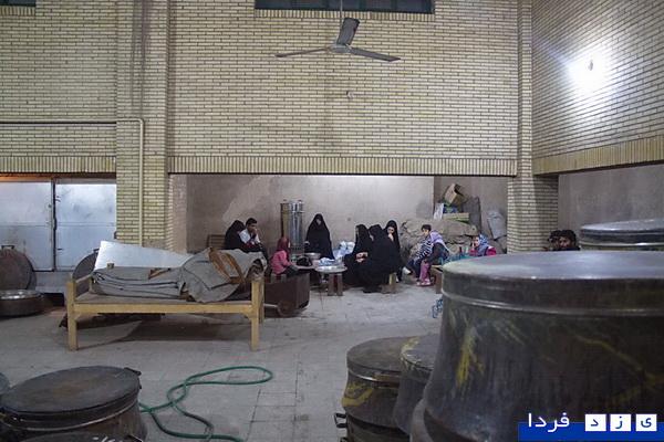 ع گزارش تصویری:آشپزحانه خانه امام حسینی(ع) یزد