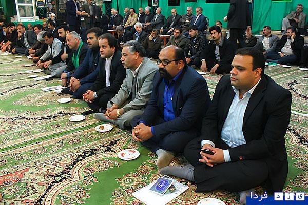"""دبیرستان ملک ثابت یزد گزارش تصویری/ جلسه مسئولین هیئت های سینه زنی یزد""""موسسه ..."""